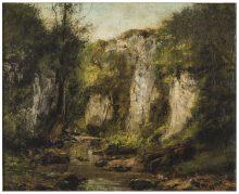 Gustave Courbet, Steilfelsen